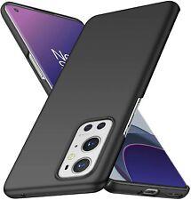 For OnePlus 9 Pro Case Ultra Slim Hard Back Cover - Matte Black