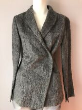 Patrizia Pepe Coat Made In Italy Wild Face Mohair Blend Women's 40/S,XS