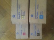 Genuine Konica Minolta TN619 Full Toner Set of 4 CMYK