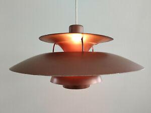 Louis Poulsen Hängelampe PH5 kupfer- braun danish design Lampe Denmark