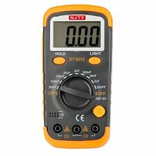 ELIKE DT6013 Capacitance Meter / Capacitor Tester 0.1pF to 20mF with Data Hol...
