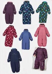 Celavi Schneeanzug Snowsuit Functionwear mit abnehmbarer Kapuze Gr. 74 bis 98