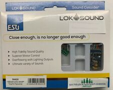 ESU 58420 LokSound 5 DCC Sound Decoder & NMRA 8 Pin BRAND NEW! V5  MODELRRSUPPLY