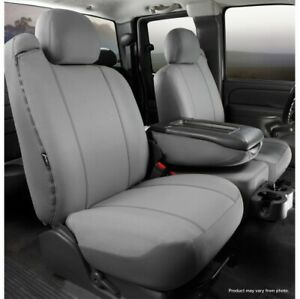 FIA SP87-17 GRAY Seat Protector Custom Seat Cover Front For 04-08 Ford F150 NEW