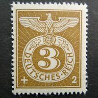 Germany Nazi Emblem 1943 Stamp MNH Third Reich Swastika Eagle WWII Deutsches Rei