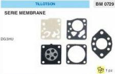 KIT RIPARAZIONE + MEMBRANE membrana CARBURATORE TILLOTSON DG3HU DG 3 HU