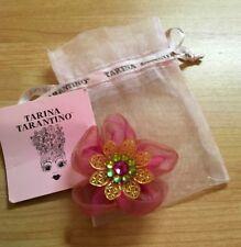Tarina Tarantino Organza Flower Anywhere Clip Rose *Made in California* Genuine