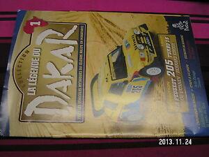 Fascicule Legende Paris Dakar n°1 Thierry Sabine Niger Edition 1987