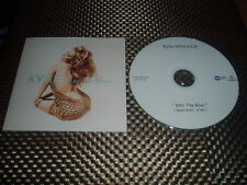 """Kylie minogue very rare cd single promo france """"into the blue"""""""