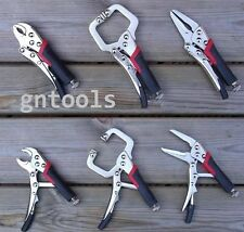 3PC Mini Locking Mole Grip Pliers Clamp Welding Tools Soft Grip Craft Hobby