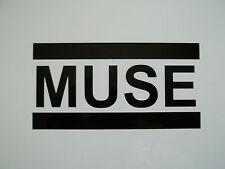 1 x Muse pegatina-Etiqueta De Vinilo Banda De Guitarra Música ventana de coche de parachoques de esquí Laptop