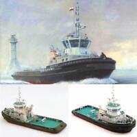 1:100 Scale Polish Tug Boat Ship DIY Handcrafts Paper Model Kits