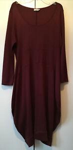 WALL LONDON Thick Cotton Balloon Dress Size XL 16/18UK
