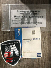 Mummert Knives Primate Express Prime Titanium Card Blade (March 2020) Edition
