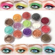 15 Color Glitter Pearl & Satin Eyeshadow Dust Loose Powder Makeup Set -Us Ship