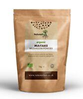 Organic Maitake Mushroom Powder - Superfood   Herbal Tea   Natural   Raw