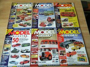 6x Model Collector Magazine issues Jan-Jun 2003 Leyland OOC Toy Fair Bus models