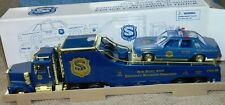 NEW JERSEY STATE POLICE PBA POLICE CAR CARRIER TRUCK 1/32 TAYLOR MADE NIB 1998