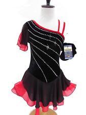 SALE Figure Ice Skating Dance Baton -Costume Dress Girls Child M