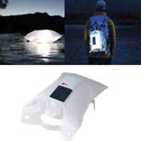 Lámpara Solar LED Tienda Inflable Impermeable para Camping Hiking Portátil