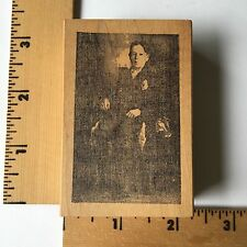 RubberMoon Rubber Stamps - Antique Photo of Man Sitting - NEW