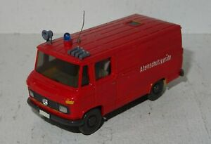A612 Wiking Mercedes L 406 Kasten Feuerwehr Atemschutzgeräte Eigenbau 1:87