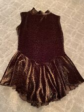 Figure skating practice dress custom-made size 8/10