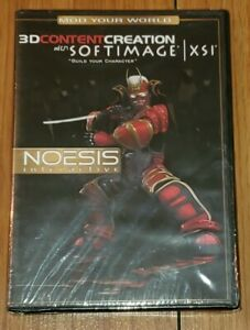 Noesis Interactive 3D Content Creation with Softimage XSI DVD ROM New Sealed