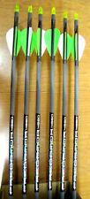 "Carbon Express Predator II 4560 Arrows - 2"" Vanes- 6 arrows- Cut to length FREE!"