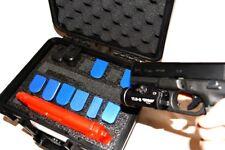 """Precut 2 pistol handgun +12 mags gun foam insert fits your Pelican â""""¢ 1300 case"""