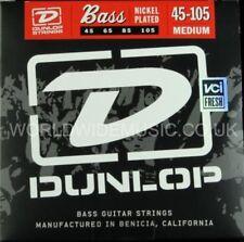 Dunlop Bass Guitar Strings Medium Gauge .45 - .105 Nickel Plated