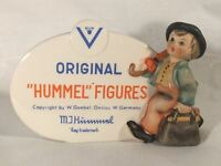 Goebel Hummel Dealer Plaque #187 TMK-4 (1964-1972) Merry Wanderer