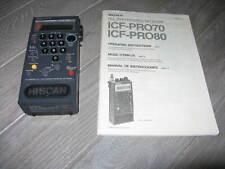 Sony ICF-PRO80 FM/LW/MW/SW Receiver & Manual