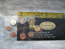 IRLANDA 2005 SET 8 MONETE) EMISSIONE UFFICIALE Irish Coin Fair - Dublin IRELAND