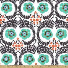 1YD Amy Butler VIOLETTE FRENCH TWIST Westminster Leaf Floral Fabric PWAB141LINEN