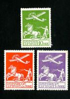 Denmark Stamps # C1-3 VF OG LH Scott Value $142.00