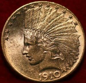 1910-D Denver Mint Gold $10 Coin