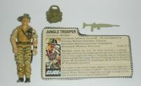 1984 GI Joe Jungle Trooper Recondo v1 Figure w/ File Card *Complete READ*