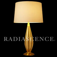 GERALD THURSTON LIGHTOLIER ATOMIC MODERN SPACE AGE MURANO GLASS TABLE LAMP 1950