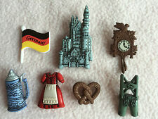 DRESS IT UP BUTTONS ~ DESTINATION GERMANY ~ CATHEDRAL ~ BEER STEIN ~ FLAG +