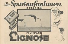 Y4946 Rollfilm und Filmpack LIGNOSE - Pubblicità d'epoca - 1927 Old advertising