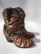 Dolls Kill Horoscopez Lethal Weapon Tiger Boots (Size 7M)