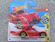 Hot Wheels 2017 # 056/365 VW VOLKSWAGEN KAFER RACER HW Rojo Fundición