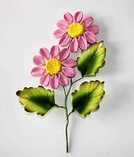 PINK DAISY Spray Sugar Flower Spray, Cake Topper Wedding Celebration Cakes