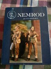 nemrod 1/35 officier et operateur radio 15 th scottish division  2 figurines