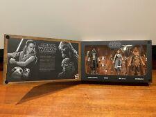 Star Wars Black Series SMUGGLER'S RUN 4 PACK - Galaxy's Edge Exclusive - MINT!