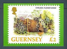GUERNSEY - 1993 - CARTOLINA - FIORI: Chelsea Flower Show
