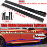 78.7'' Universal Side Skirt Extension Rocker Panel Splitters Lip For Honda BMW