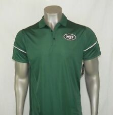 NWT MENS NIKE NEW YORK JETS DRI FIT ON FIELD SHORT SLEEVE LOOSE GOLF SHIRT SMALL