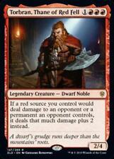Torbran, Thane of Red Fell Near Mint Normal English Throne of Eldraine Card MTG
